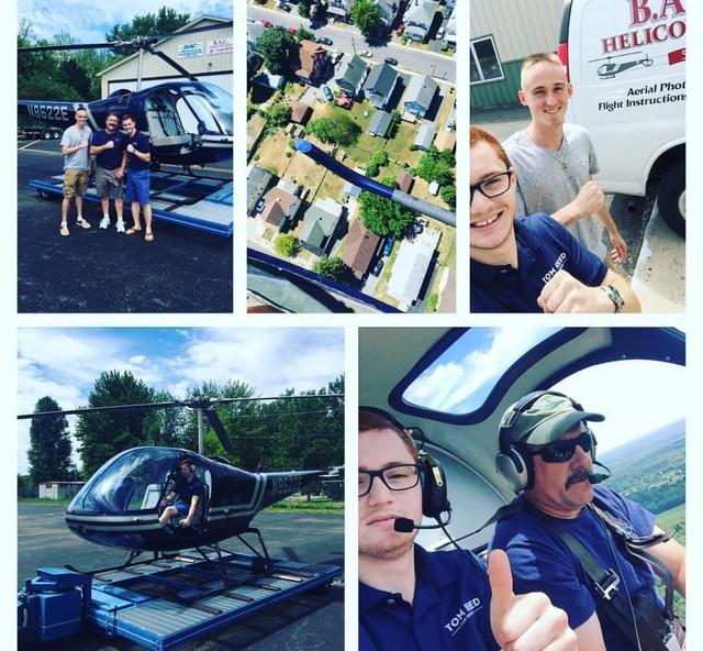 B.A.C. Helicopters Flight School