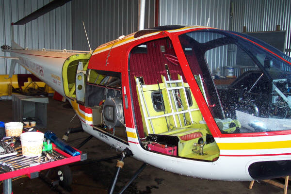 Aircraft helicopter repair